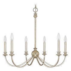 Capital Lighting Alexander Winter Gold Chandelier
