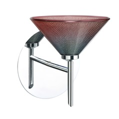 Besa Lighting Kona Chrome LED Sconce
