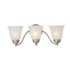 Maxim Lighting Satin Nickel Bathroom Light