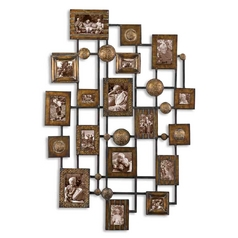 Uttermost Lighting Wall Art in Maple Wash Finish 13465