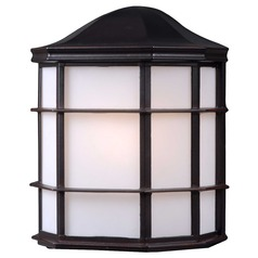 Kenroy Home Lighting Alcove Oil Rubbed Bronze Outdoor Wall Light