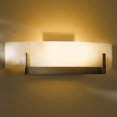 Hubbardton Forge Lighting Axis Dark Smoke Sconce