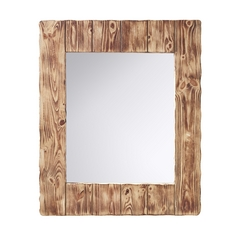 Feiss Lighting Montana Rectangle 30-Inch Mirror MR1168SMW