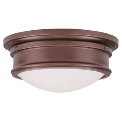 Livex Lighting Astor Vintage Bronze Flushmount Light