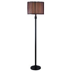 Kenroy Bora Bronze Outdoor Floor Lamp