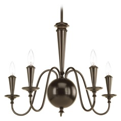Progress Lighting Identity Antique Bronze Chandelier