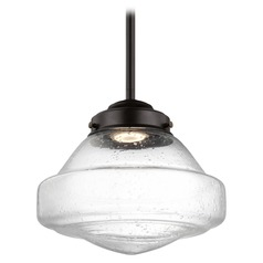 Feiss Alcott Oil Rubbed Bronze LED Mini-Pendant Light