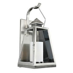 Kalco Shorecrest Brushed Stainless Steel Outdoor Wall Light