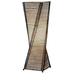 Modern Table Lamp in Black Finish