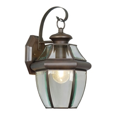Livex Lighting Monterey Bronze Outdoor Wall Light