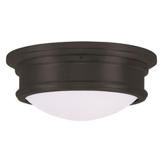 Livex Lighting Astor Bronze Flushmount Light