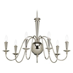Progress Lighting Identity Polished Nickel Chandelier
