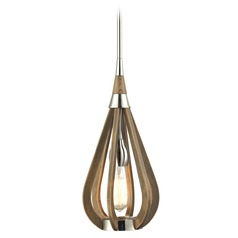 Elk Lighting Janette Polished Nickel Mini-Pendant Light
