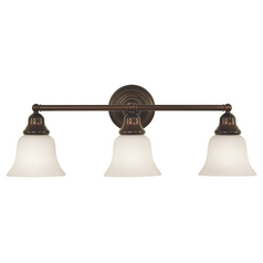 Three-Light Bathroom Fixture