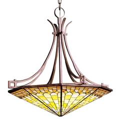 Kichler Lighting Kichler Six-Light Tiffany Glass Pendant 65163