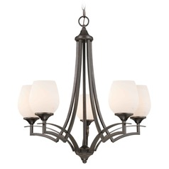 Umbria Olde World Iron Chandelier