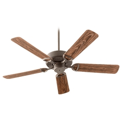 Quorum Lighting Estate Patio Oiled Bronze Ceiling Fan Without Light