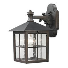 Cornerstone Lighting Shaker Heights Hazelnut Bronze Outdoor Wall Light