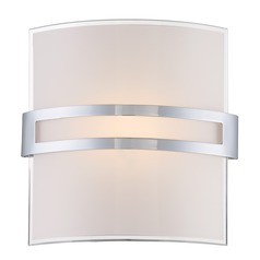 Lite Source Galena Chrome LED Sconce