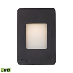 Alico Lighting Beacon Black LED Recessed Step Light