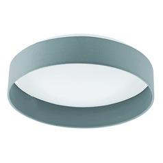 Eglo Palomaro Charcoal Grey LED Flushmount Light