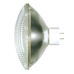 Incandescent PAR64 Light Bulb 2 Pin Base Narrow Flood 23 Degree Beam Spread 120V by Satco
