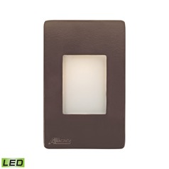 Alico Lighting Beacon Brown LED Recessed Step Light
