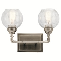 Kichler Lighting Niles Antique Pewter Bathroom Light
