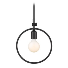 Golden Lighting Sloane Black Mini-Pendant Light