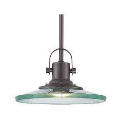 Quoizel Lighting Mini-Pendant Light with Clear Glass VR1503PN