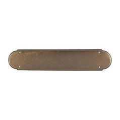 Push Plate in German Bronze Finish