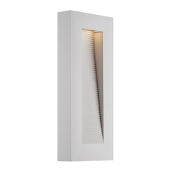 Modern Forms Urban White LED Outdoor Wall Light
