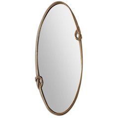 Uttermost Giacomo Gold Oval Mirror