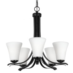 Feiss Summerdale 5-Light Chandelier in Oil Rubbed Bronze