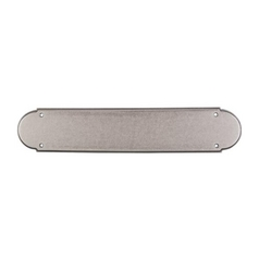 Push Plate in Pewter Antique Finish