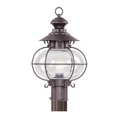 Livex Lighting Harbor Bronze Post Light