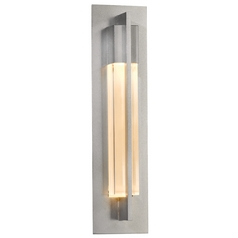 Hubbardton Forge Lighting Axis Vintage Platinum Sconce