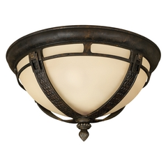 Hinkley Lighting Close To Ceiling Light in Regency Bronze Finish 1613RB-GU24