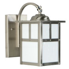 Craftmade Lighting Mission Stainless Steel Outdoor Wall Light