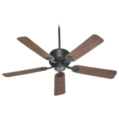 Quorum Lighting Hanover Old World Ceiling Fan Without Light