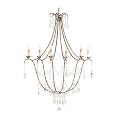Crystal Chandelier in Rhine Gold Finish