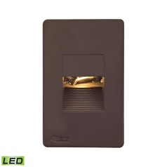Alico Lighting Aperture Brown LED Recessed Step Light