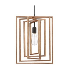 Craftmade Lighting Cube Espresso Pendant Light