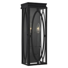Feiss Lighting Patrice Dark Weathered Zinc Outdoor Wall Light