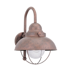 Marine / Nautical Outdoor Wall Light Copper Sebring by Sea Gull Lighting