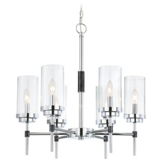 Lite Source Quintana Chrome Chandelier