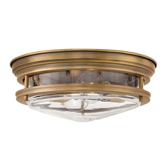 Industrial Bronze Flushmount Light by Hinkley Lighting