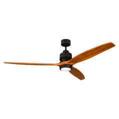Craftmade Lighting Sonnet Espresso Ceiling Fan with Light