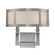 Seven Springs 2 Light Wall Sconce In Satin Nickel