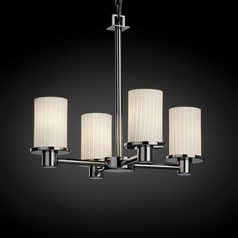 Justice Design Group Fusion Collection Mini-Chandelier